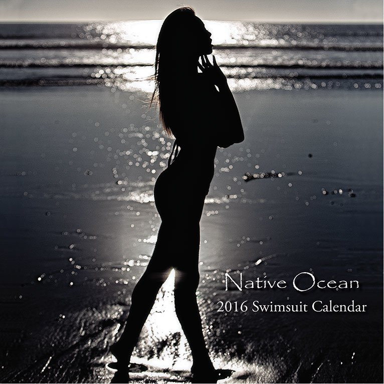 Native Ocean 2016 Swimsuit Calendar front cover